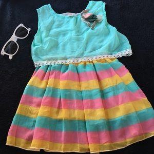 Other - Girls toddler sleeveless birthday party dress